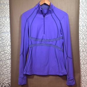 Lululemon  1/2 zip pullover long sleeve 8